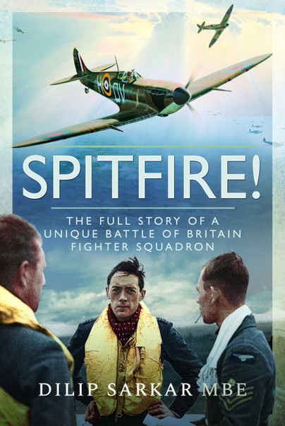 Guest Post: Dilip Sarkar MBE – Squadron Leader Brian Lane DFC and Spitfire!