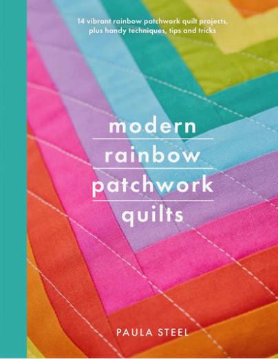 Sneak Peek: Modern Rainbow Patchwork Quilts