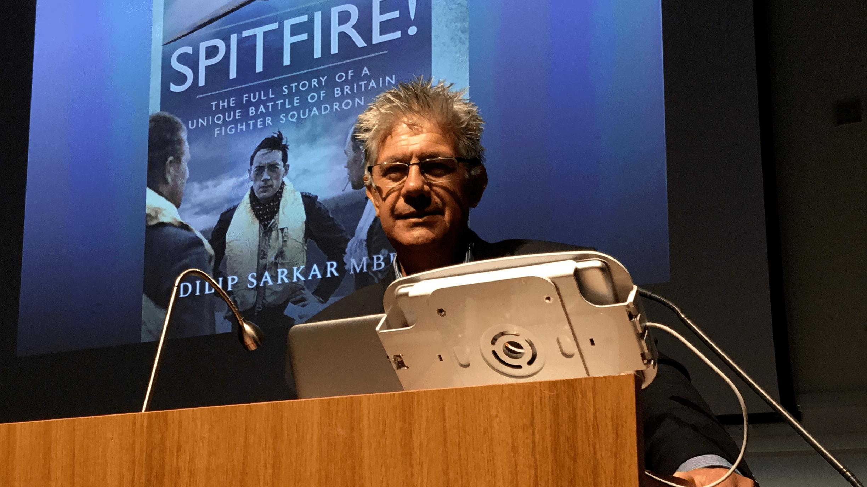 Meet the author: Dilip Sarkar MBE FRHistS