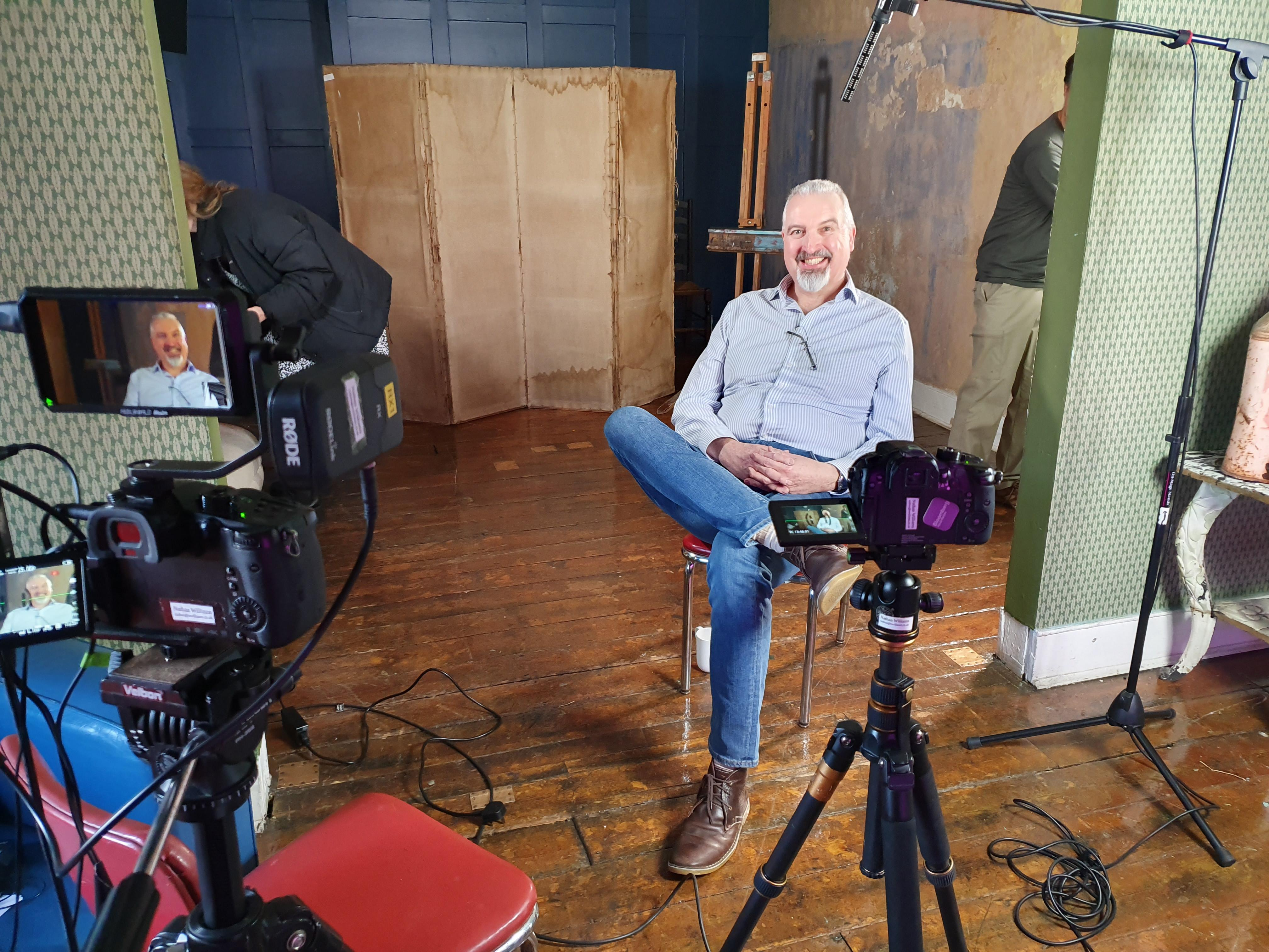 Pen & Sword and Greenhill Publishing Author Dr Simon Elliott on Appearing in Channel 5's Walking Britain's Roman Roads.