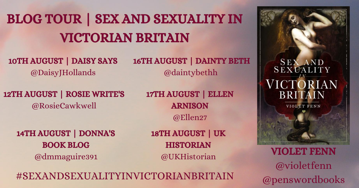 Sex and Sexuality in Victorian Britain: Blog Tour Round-Up