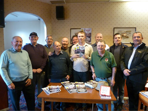 Jonathan Symcox launched his latest release [i]The 1984/85 Miners' Strike Nottinghamshire[/i] on Saturday 28/11/11.