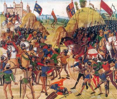 On this day in history - the Battle of Crécy